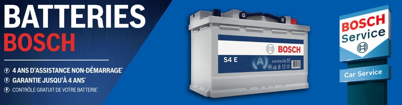 Retrouvez toutes la gamme de Batterie Bosch dans notre reseau