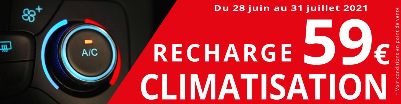 RECHARGE CLIMATISATION À 59€
